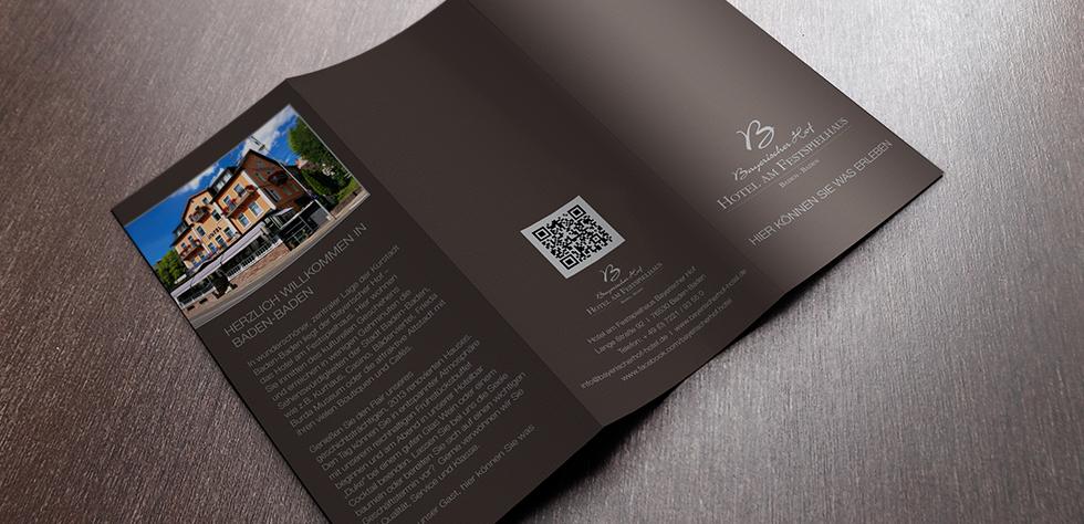 Erstellung eines Flyers für den Bayerischen Hof Baden-Baden mit Neuer Corporate Identity (CI). In enger Zusammenarbeit mit dem Kunden haben wir ein individuelles Design erstellt….. mehr lesen…..