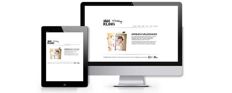 Für den selbständig Tätigen Fotografen Jan Kling haben wir die Erstellung einer neuen Webseite übernommen. Dabei sollte ein markantes aber schlichtes Design entwickelt werden, was in die Branche passt. Die Corporate identity wurde an das Webdesign der Webseite angepasst. Das Redaktionssystem CMS Für die schnelle und flexible Anpassung erhielt der Kunde ein eigenes Redaktionssystem (Sefrengo).  Damit hat der Kunde die Möglichkeit eigenständig Inhalte…. mehr lesen…..